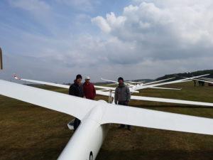 Streckenfluglehrgang in Varrelbusch